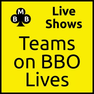 Live Shows > Teams on BBO