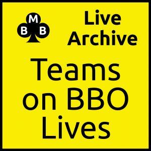 Modules > Teams on BBO